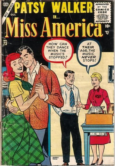Cover for Miss America (Marvel, 1953 series) #73