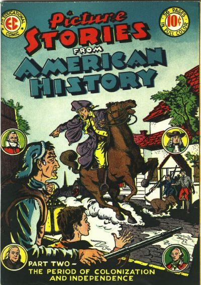 Cover for Picture Stories from American History (EC, 1945 series) #2