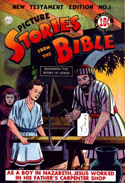 Cover for Picture Stories from the Bible New Testament (DC, 1944 series) #1