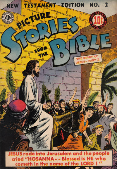 Cover for Picture Stories from the Bible New Testament (DC, 1944 series) #2