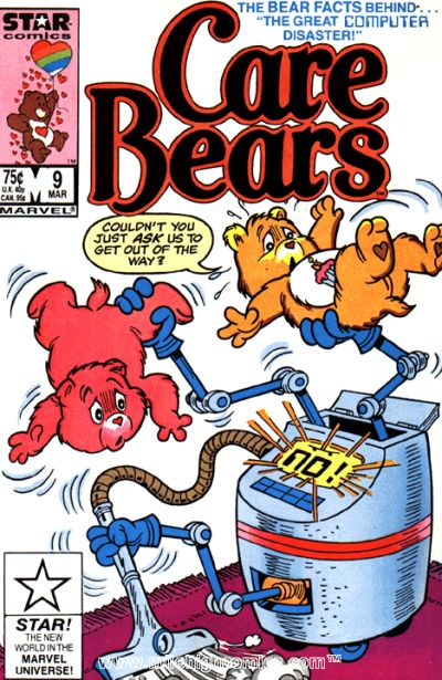 Cover for Care Bears (Marvel, 1985 series) #9 [Direct]