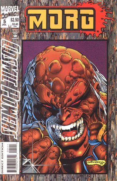 Cover for Cosmic Powers (Marvel, 1994 series) #5 [Direct Edition]
