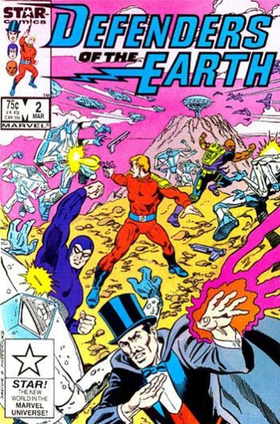 Cover for Defenders of the Earth (Marvel, 1987 series) #2