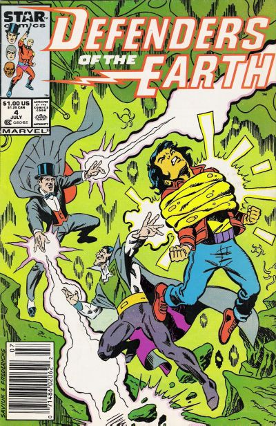 Cover for Defenders of the Earth (Marvel, 1987 series) #4