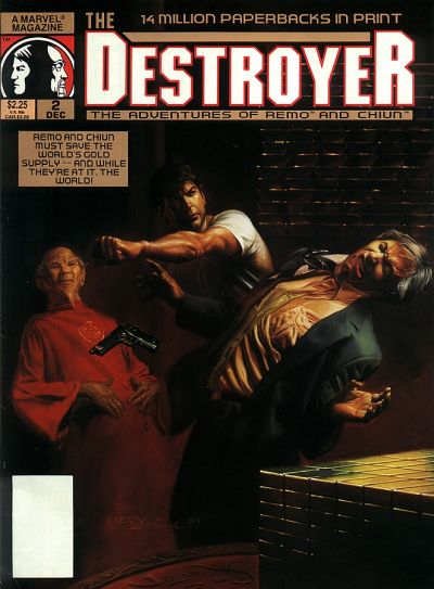 Cover for The Destroyer (Marvel, 1989 series) #2
