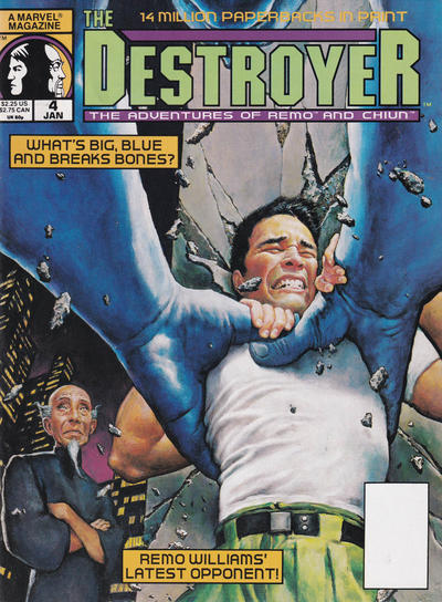 Cover for The Destroyer (Marvel, 1989 series) #4