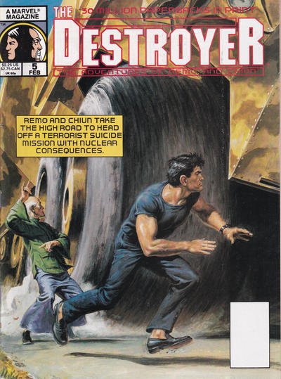 Cover for The Destroyer (Marvel, 1989 series) #5