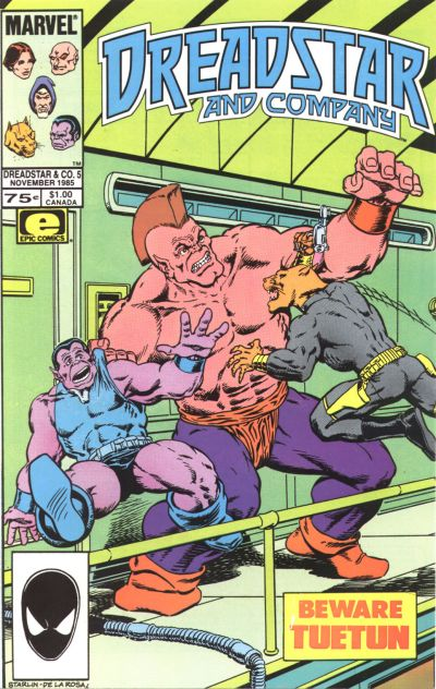 Cover for Dreadstar and Company (Marvel, 1985 series) #5
