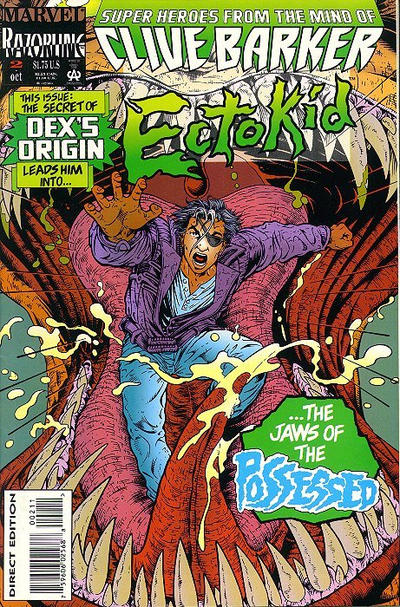 Cover for Ectokid (Marvel, 1993 series) #2