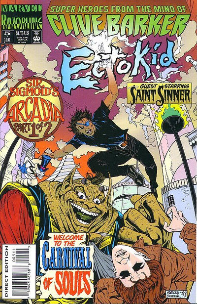Cover for Ectokid (Marvel, 1993 series) #5