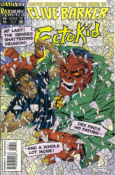 Cover for Ectokid (Marvel, 1993 series) #6