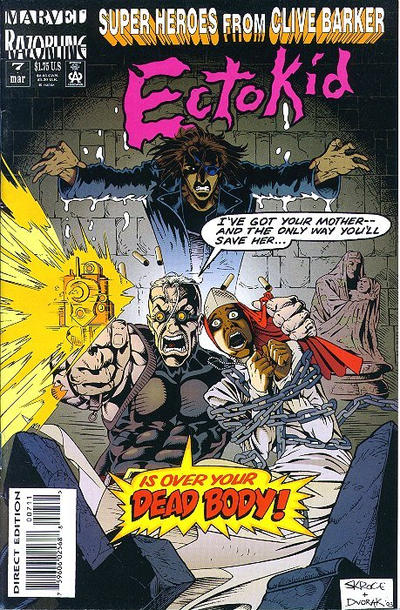 Cover for Ectokid (Marvel, 1993 series) #7