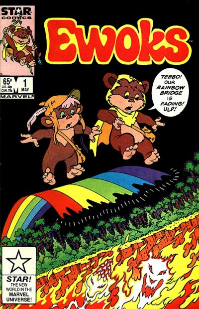 Cover for The Ewoks (Marvel, 1985 series) #1 [Newsstand]
