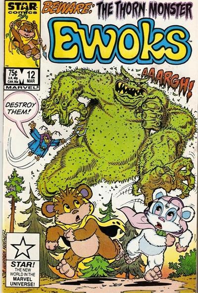 Cover for The Ewoks (Marvel, 1985 series) #12 [Direct]