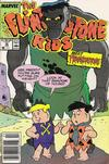 Cover for The Flintstone Kids (Marvel, 1987 series) #10 [Newsstand Edition]