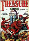 Cover for Treasure Comics (Prize, 1945 series) #2