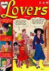Cover for Lovers (Marvel, 1949 series) #37