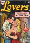 Cover for Lovers (Marvel, 1949 series) #40