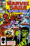 Cover for The Marvel Saga the Official History of the Marvel Universe (Marvel, 1985 series) #2 [Direct Edition]