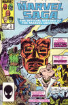 Cover for The Marvel Saga the Official History of the Marvel Universe (Marvel, 1985 series) #3 [Direct]