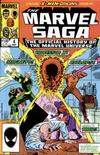 Cover for The Marvel Saga the Official History of the Marvel Universe (Marvel, 1985 series) #4 [Direct]
