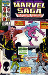 Cover for The Marvel Saga the Official History of the Marvel Universe (Marvel, 1985 series) #7 [Direct Edition]
