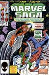Cover for The Marvel Saga the Official History of the Marvel Universe (Marvel, 1985 series) #9 [Direct]