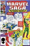 Cover for The Marvel Saga the Official History of the Marvel Universe (Marvel, 1985 series) #11 [Direct]