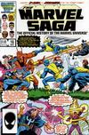 Cover for The Marvel Saga the Official History of the Marvel Universe (Marvel, 1985 series) #16 [Direct]