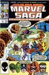 Cover for The Marvel Saga the Official History of the Marvel Universe (Marvel, 1985 series) #17 [Direct]