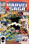 Cover for The Marvel Saga the Official History of the Marvel Universe (Marvel, 1985 series) #18