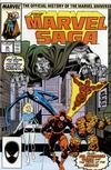 Cover for The Marvel Saga the Official History of the Marvel Universe (Marvel, 1985 series) #20