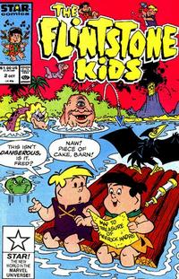 Cover Thumbnail for The Flintstone Kids (Marvel, 1987 series) #2 [Direct Edition]