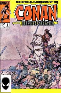 Cover Thumbnail for The Handbook of the Conan Universe (Marvel, 1986 series) #1