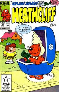 Cover Thumbnail for Heathcliff (Marvel, 1985 series) #20 [Direct]