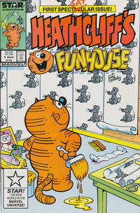 Cover Thumbnail for Heathcliff's Funhouse (Marvel, 1987 series) #1