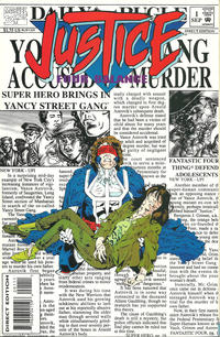 Cover Thumbnail for Justice: Four Balance (Marvel, 1994 series) #1