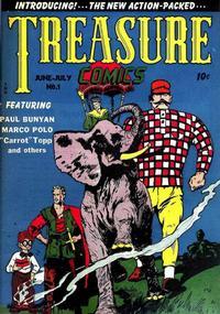 Cover Thumbnail for Treasure Comics (Prize, 1945 series) #1