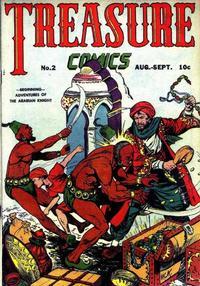 Cover Thumbnail for Treasure Comics (Prize, 1945 series) #2