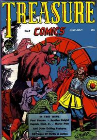 Cover Thumbnail for Treasure Comics (Prize, 1945 series) #7