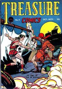 Cover Thumbnail for Treasure Comics (Prize, 1945 series) #9