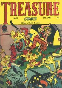 Cover Thumbnail for Treasure Comics (Prize, 1945 series) #10