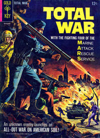 Cover Thumbnail for Total War (Western, 1965 series) #1