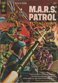 Cover Thumbnail for M.A.R.S. Patrol Total War (Western, 1966 series) #3