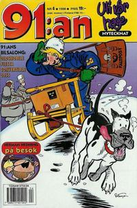 Cover Thumbnail for 91:an (Egmont, 1997 series) #4/1998