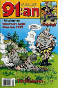 Cover Thumbnail for 91:an (Egmont, 1997 series) #9/2000