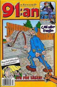 Cover Thumbnail for 91:an (Egmont, 1997 series) #12/2001