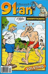 Cover Thumbnail for 91:an (Egmont, 1997 series) #19/2001