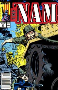 Cover Thumbnail for The 'Nam (Marvel, 1986 series) #29