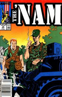 Cover Thumbnail for The 'Nam (Marvel, 1986 series) #34